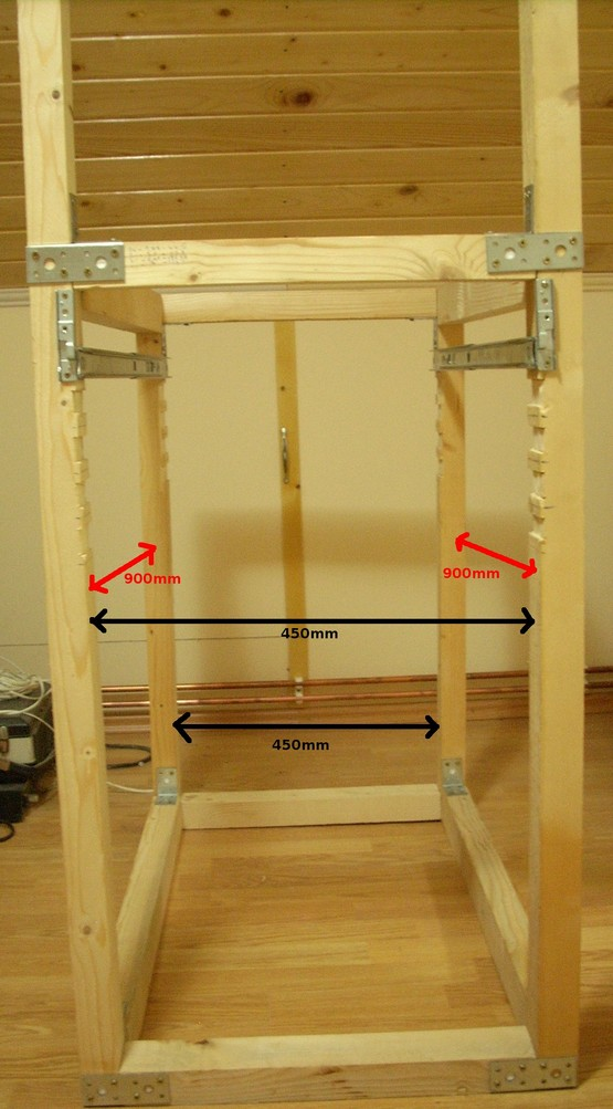 Adi Roiban - DIY 19 Inch Rack from Wood